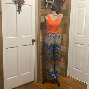 Nice pants and top good condition